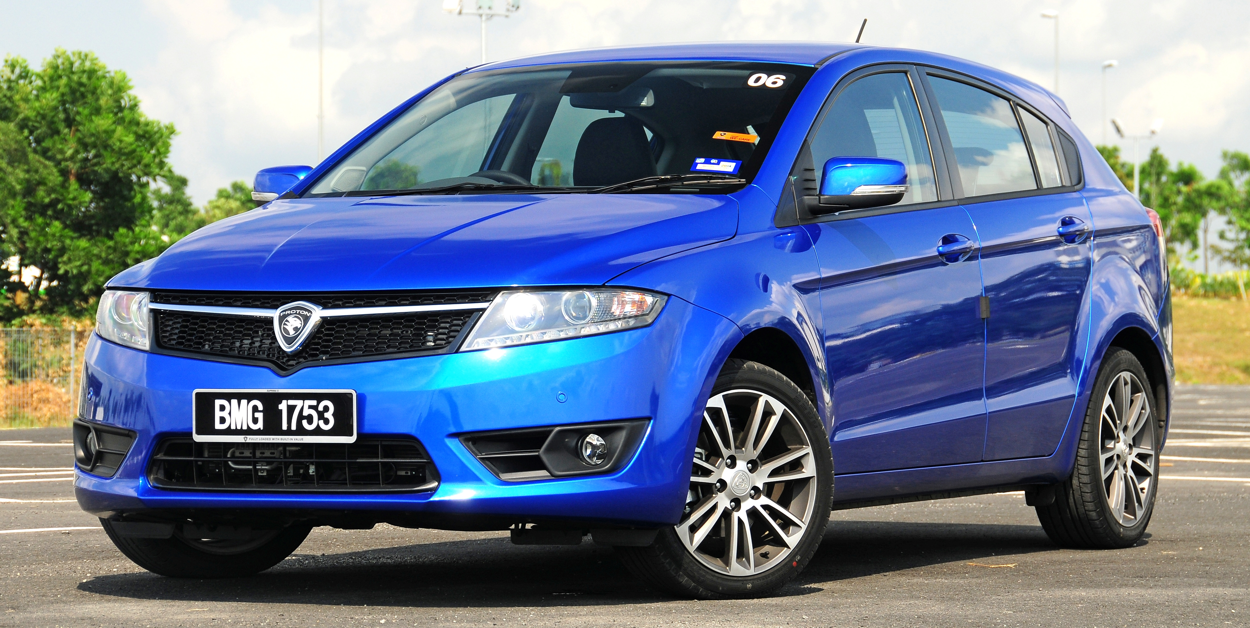 Proton Suprima S Front Three Quarter Facing Left - Proton Suprima S Price In Malaysia