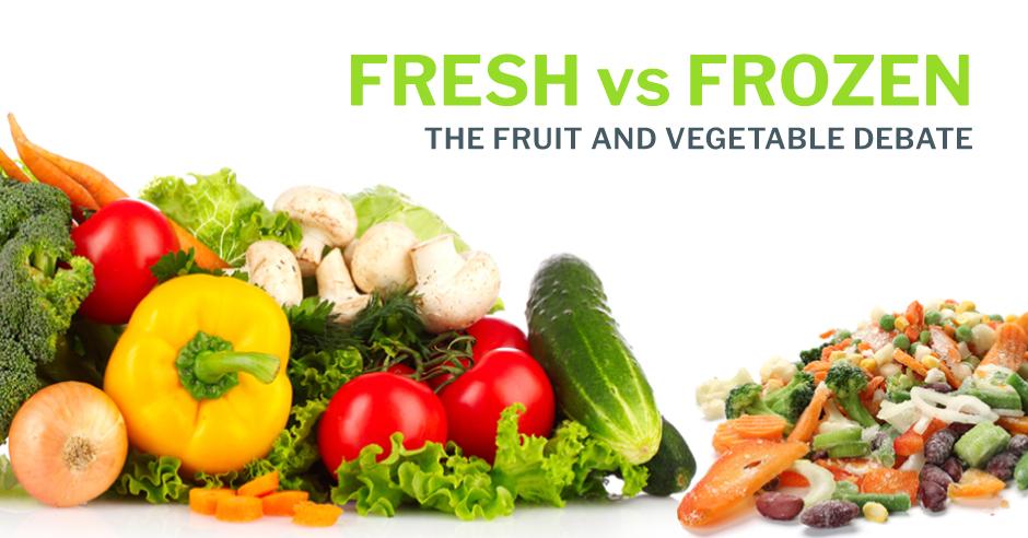 issa fresh vs frozen - Vegetable Foods vs. Meat Foods
